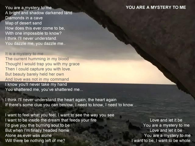 Lisa Zane - Lyrics